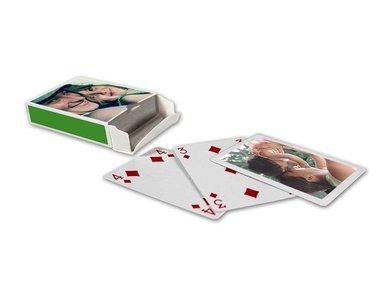 Speelkaarten gepersonaliseerd